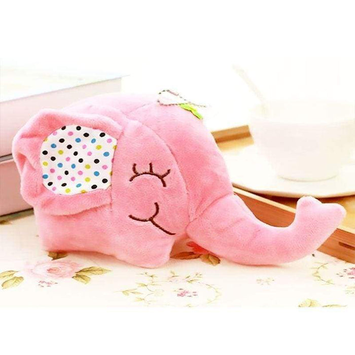 Plush Elephant Car Cuddly Rear Mirror Window Sucker Cute Toy - The Fashion Gift Shop Ltd