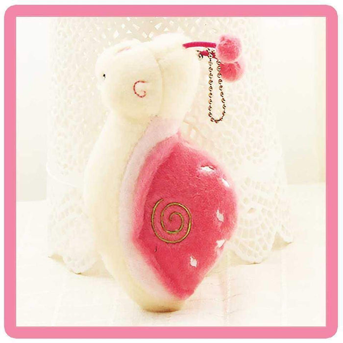 Plush Snail Soft Toy Rear View Mirror Large Bag Charm Keyring Cute Gift - Gift Shop UK