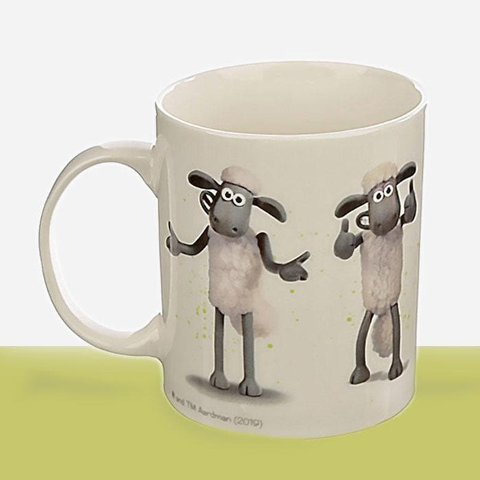 Shaun the Sheep Bone China Coffee & Tea Mugs - The Fashion Gift Shop