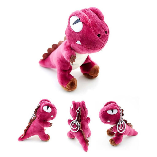 Soft Cuddly T-Rex Dinosaurs Boys Girls Backpack Charm Keyring - The Fashion Gift Shop Ltd
