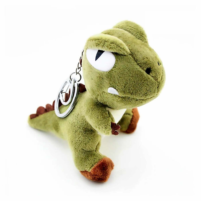 Soft Cuddly T-Rex Dinosaurs Boys Girls Backpack Charm Keyring - Gift Shop UK