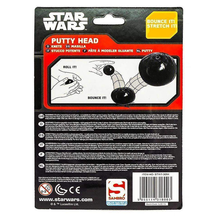 Star Wars Putty Head Bouncing Reshaping Storm Trooper Fun Childs Gifts - The Fashion Gift Shop Ltd