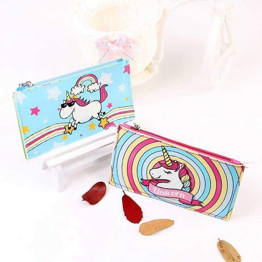 Super Quality Unicorn Purse Zipped Wallet Pouch Coin Bag - The Fashion Gift Shop Ltd