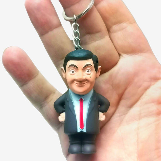 The Name's Bean Mr Bean 30 Year Anniversary Sound and Torch Keyring - The Fashion Gift Shop