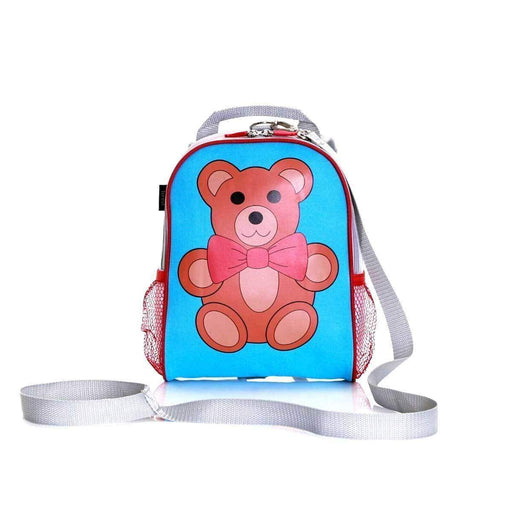 Wobbly Forest Teddy Bear Toddlers Backpack With Reins Padded Shoulder Straps - The Fashion Gift Shop Ltd