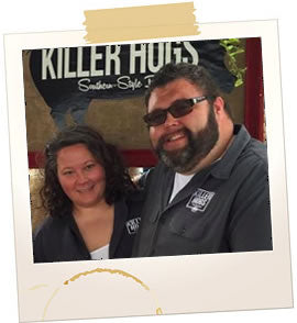 Malcom Reed and Rachelle Reed of HowToBBQRight