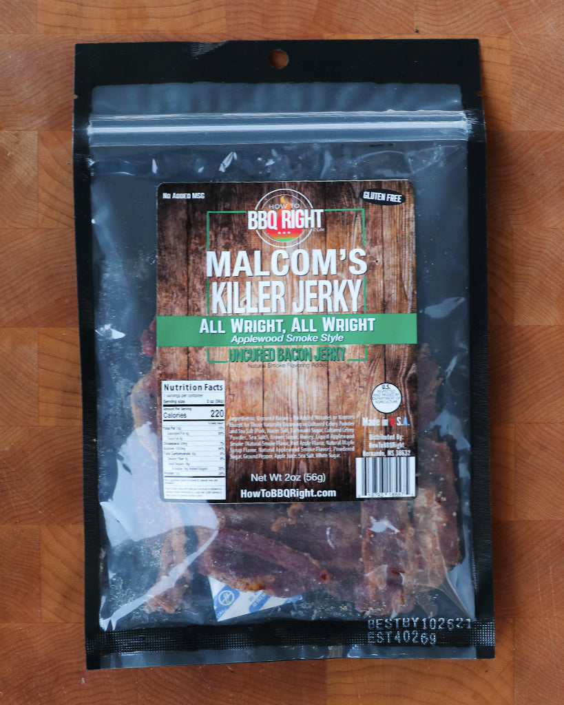 Malcom's Jerky - All Wright, All Wright