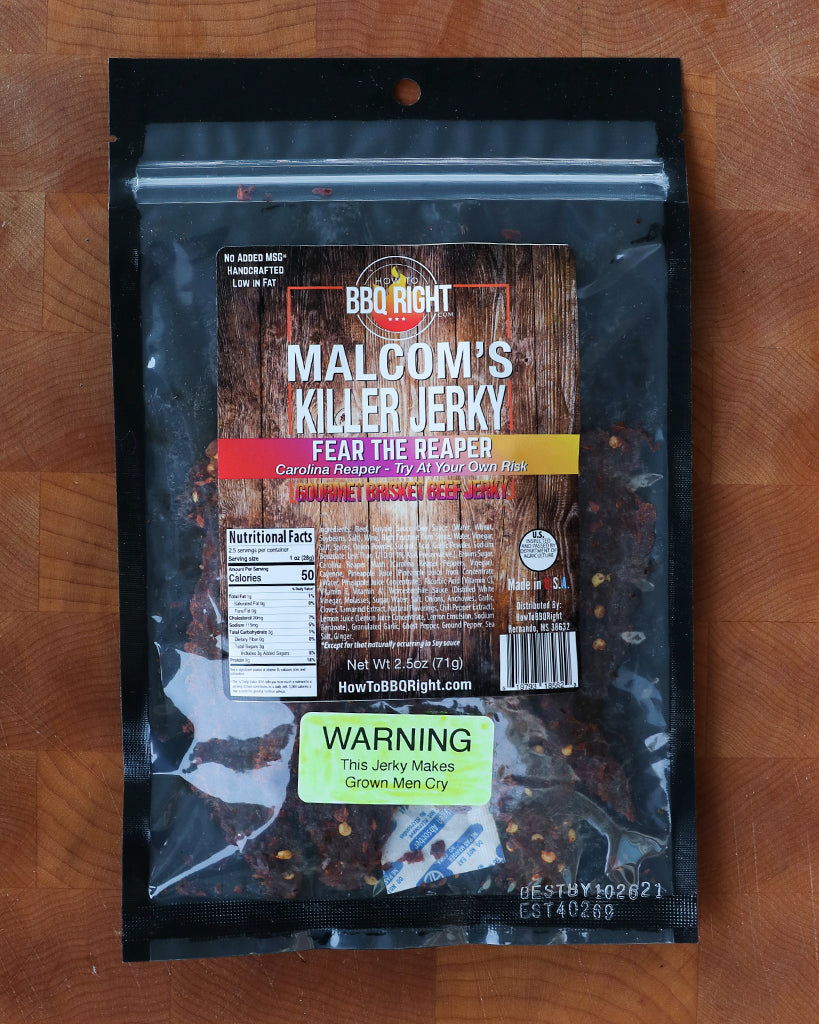 Malcom's Jerky - Fear The Reaper