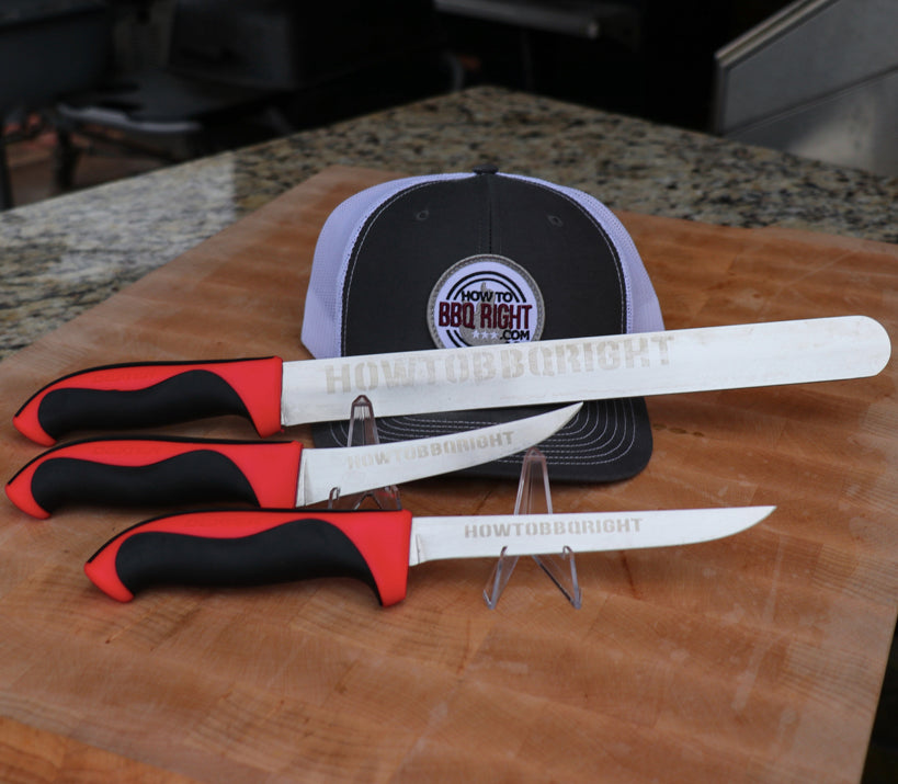 Just Cuttin' Up 3 Knife and Hat set