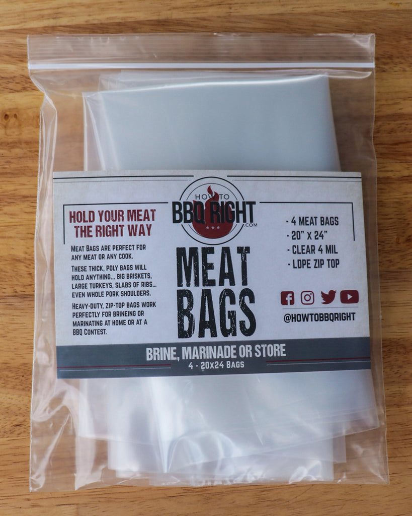 HowToBBQRight Meat Bags