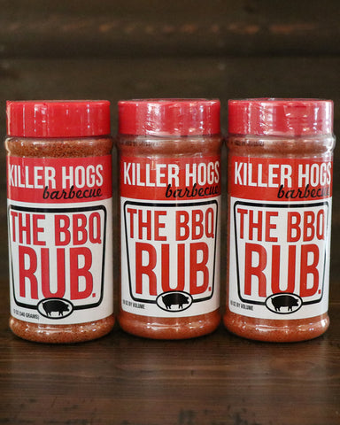 Killer Hogs The BBQ Rub. (3 Pack)