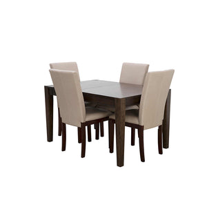 Brooklyn Heights 5 Piece Casual Dining - Warm Grey