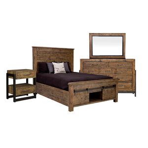 Sommerford 6 Pce Qn Bedroom with Storage - Brown