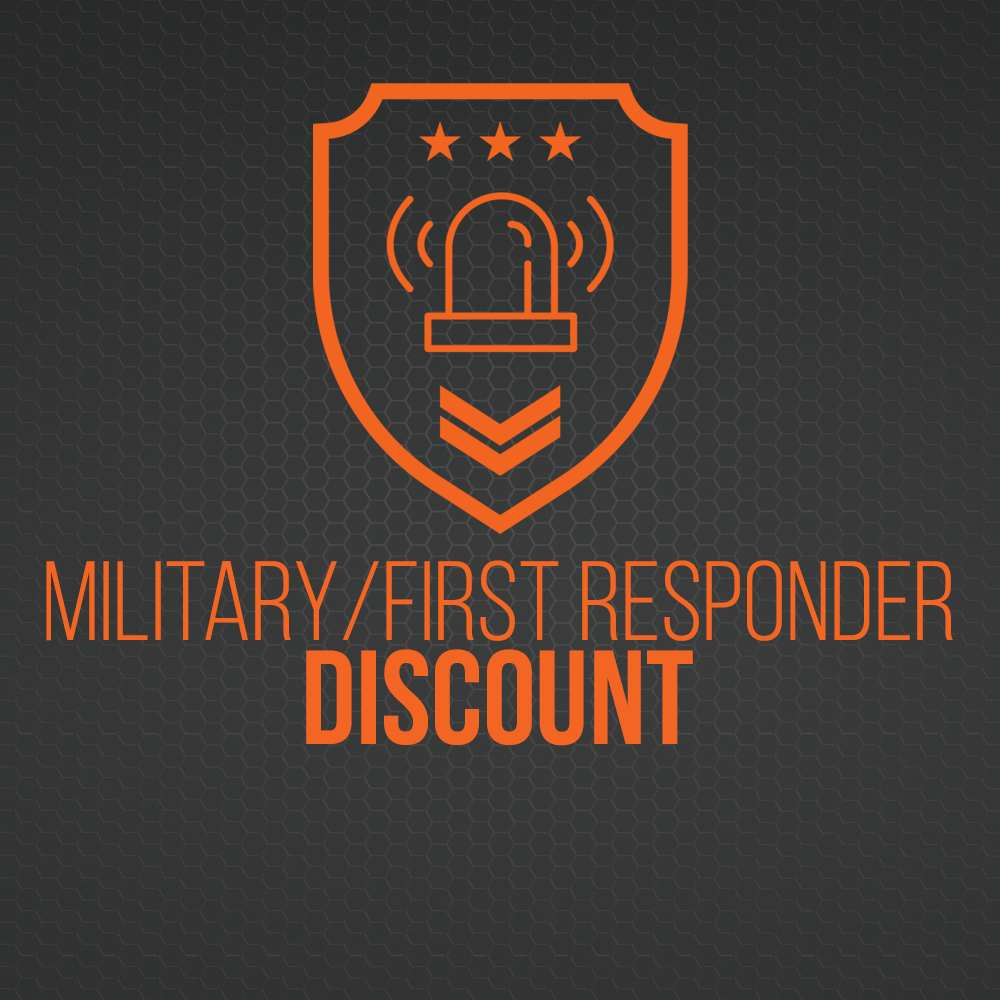Military/First Responder Discount
