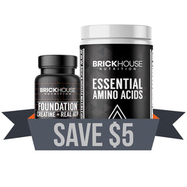 Brickhouse nutrition sport pack with foundation and essential amino acids