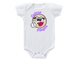 White Future Player Volleyball Baby Onesie