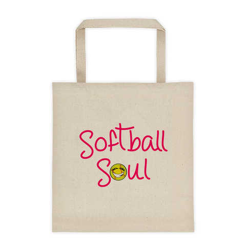 Natural Softball Soul Sporji Tote