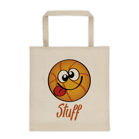 Natural Tote Bag Basketball Stuff Sporji Tote