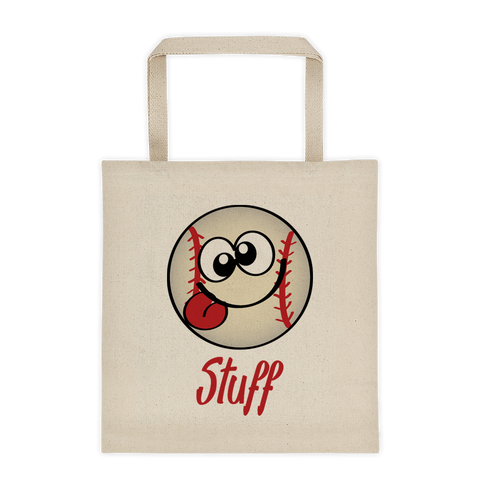 Natural Tote Bag Baseball Stuff Sporji Tote