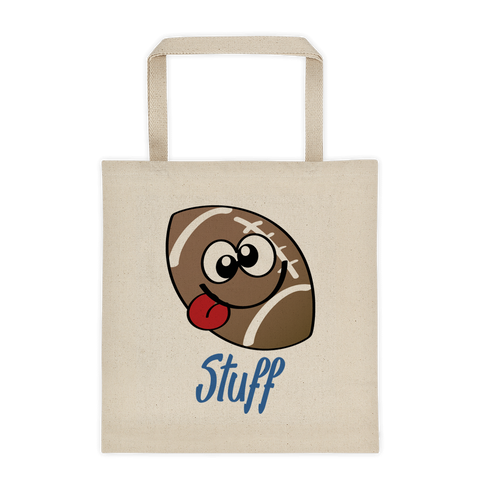 Natural Tote Bag Football Stuff  Sporji Tote