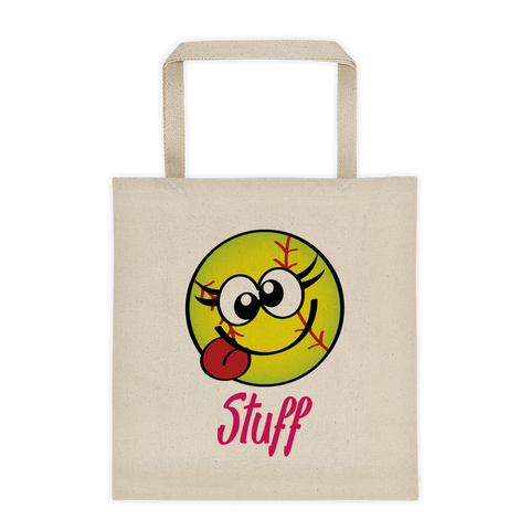 Natural Tote Bag Softball Stuff Sporji Tote