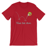 Softball Travel Ball Mom T-shirt