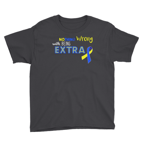 Youth Down Syndrome Nothing Wrong... T-Shirt