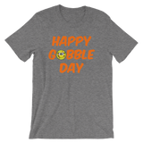 Thanksgiving Happy Gobble Day Softball Unisex T-Shirt