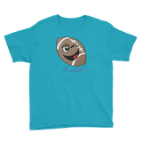 Youth Football Player T-Shirt