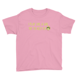 Youth Tennis I Play Like A Girl  T-Shirt