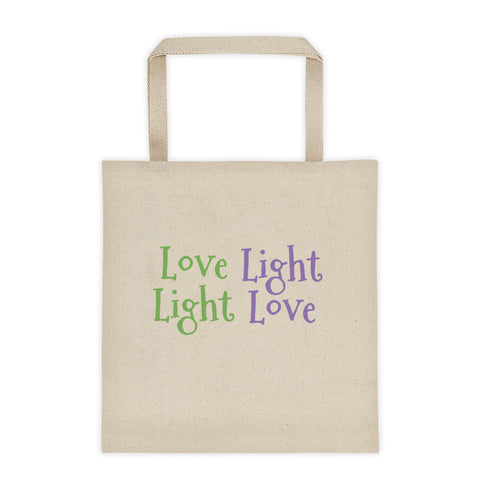 Love Light Tote bag