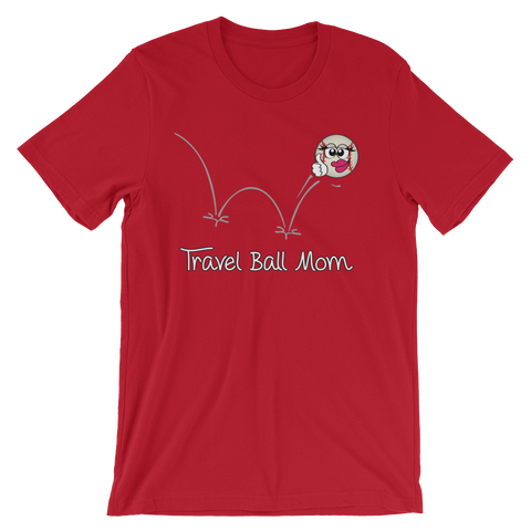 Baseball Travel Ball Mom T-shirt