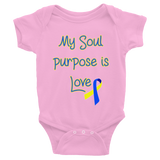 Infant Down Syndrome My Soul Purpose is Love