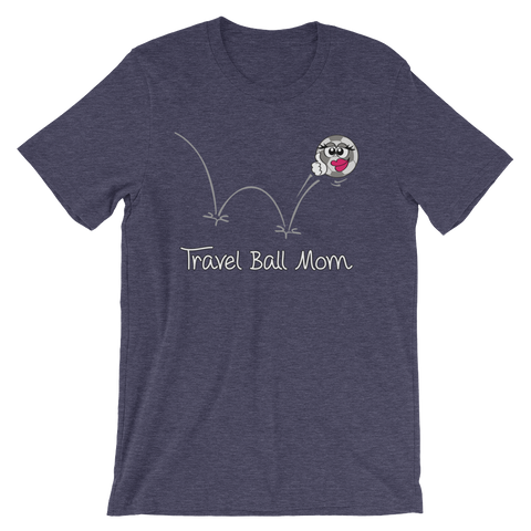 Soccer Travel Ball Mom T-shirt