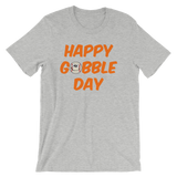 Thanksgiving Happy Gobble Day Baseball Unisex T-Shirt