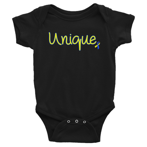 Infant Down Syndrome Unique Onesie