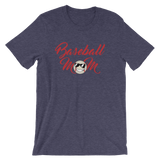 Baseball Mom Script  Unisex T-Shirt