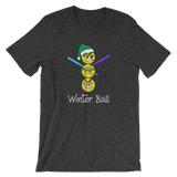 Christmas Softball Winter Ball T-Shirt