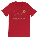 Basketball Travel Ball Mom T-shirt