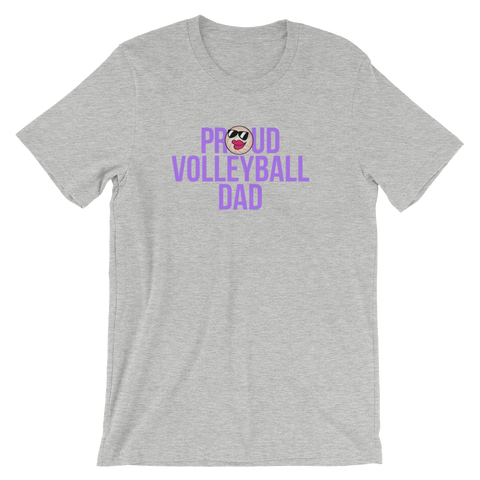 Volleyball Proud Dad  Unisex T-Shirt