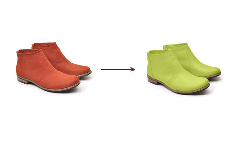 change colour of your shoes or boots