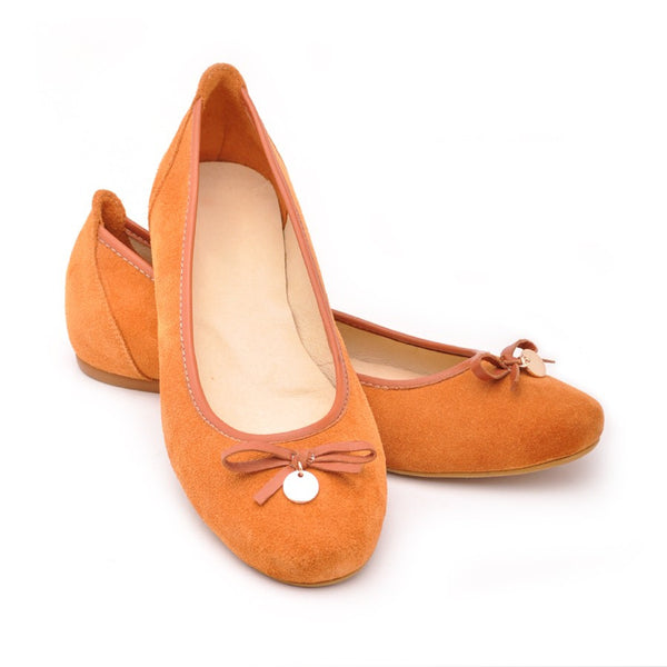 Ginger handmade real leather ladies pumps