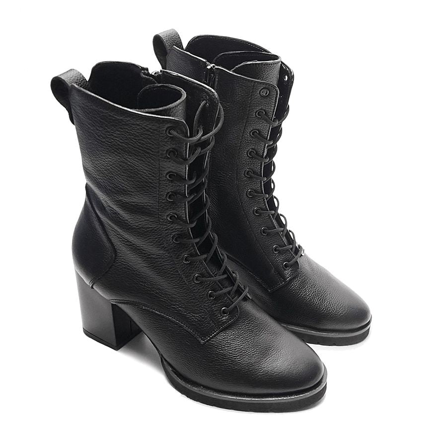 Real leather ladies ankle boots