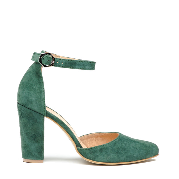 Lovely green high heel sandals great for any ocassion, perfect to dress and jeans