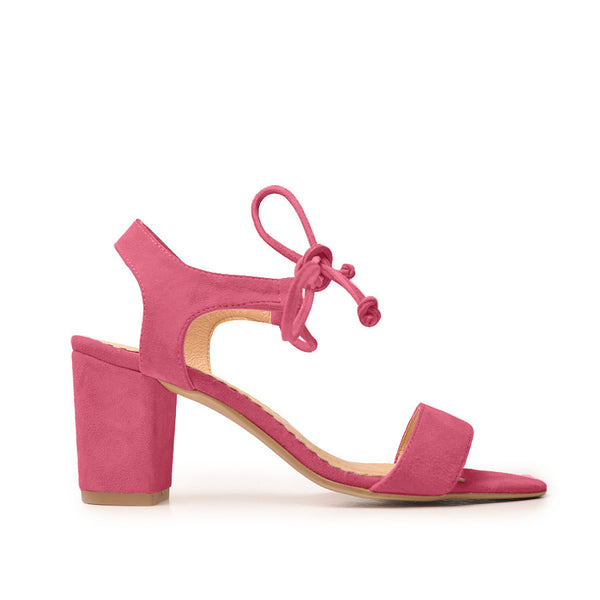 Real leather ladies ankle sandals