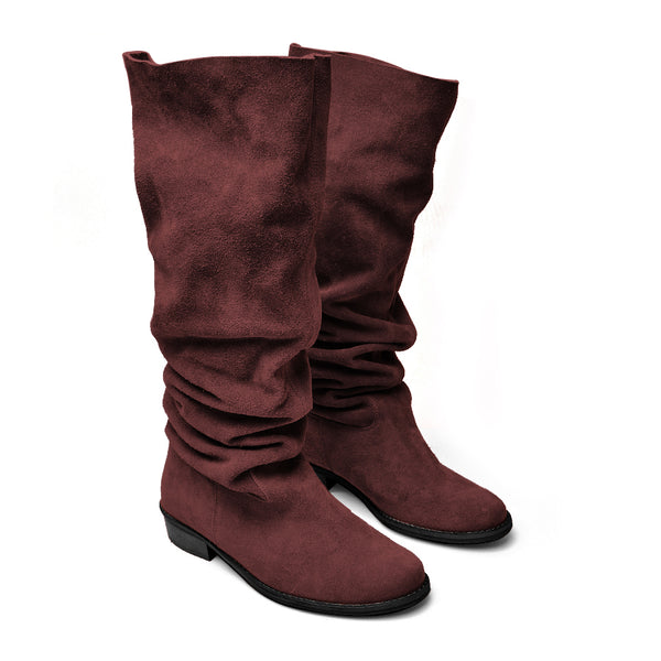 Handmade real leather ladies winter boots
