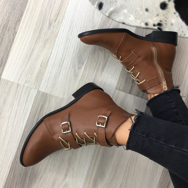 Lightweight ankle boots with stylish buckles in many wonderful colours, very comfy and stylish