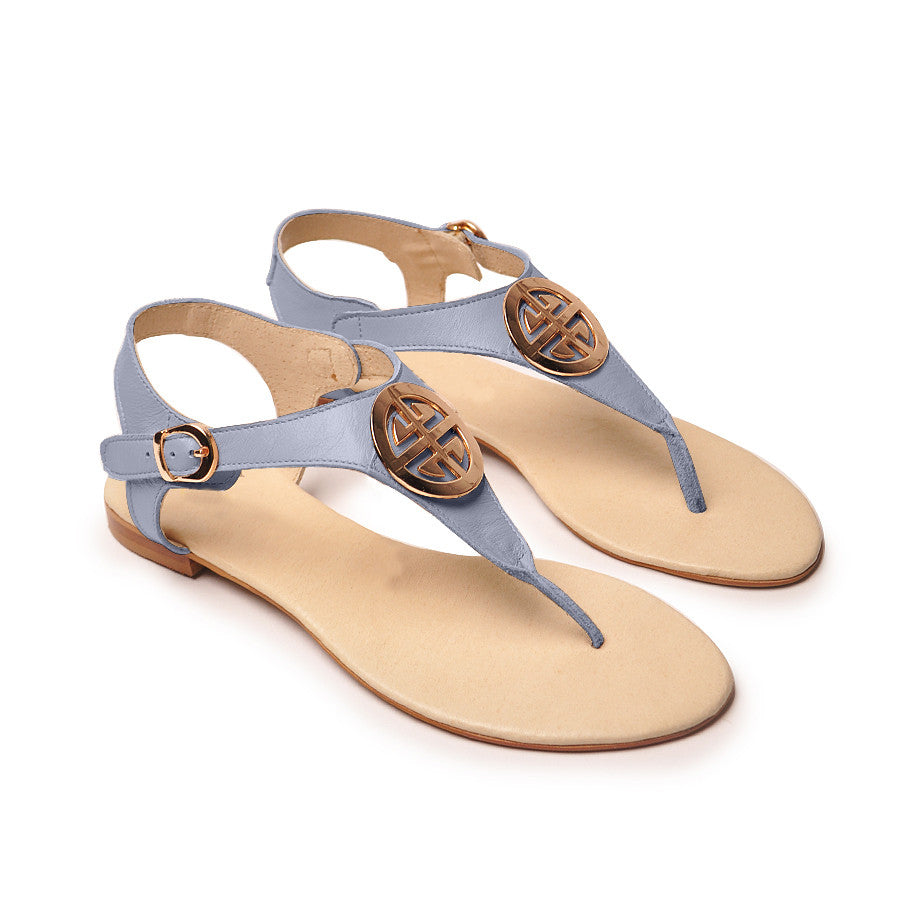 handmade real leather ladies sandals