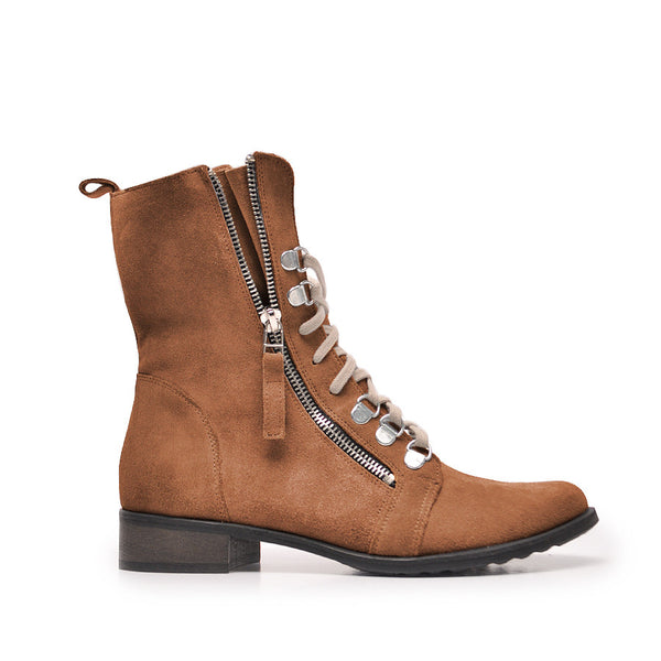 High top ankle boots handmade from quality leather