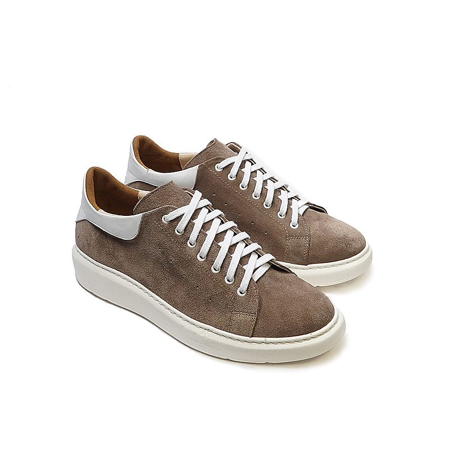 Trainers handmade from quality real leather
